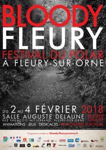 BloodyFleury2018 AfficheA3 212x300 - Festival Bloody Fleury 2018