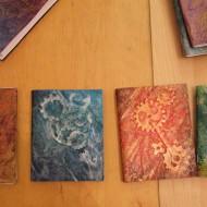 carnets noel2015 190x190 - Cartonnage, media mixtes pour boîtes et carnets de Noël