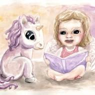 L'angelot et la licorne