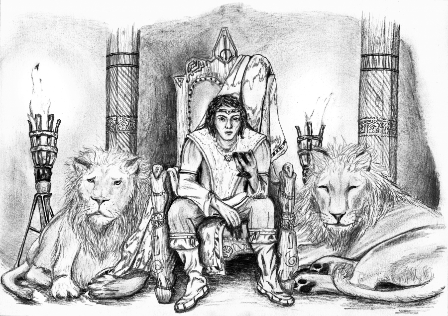 le prince et sa garde nb - Le prince et sa garde
