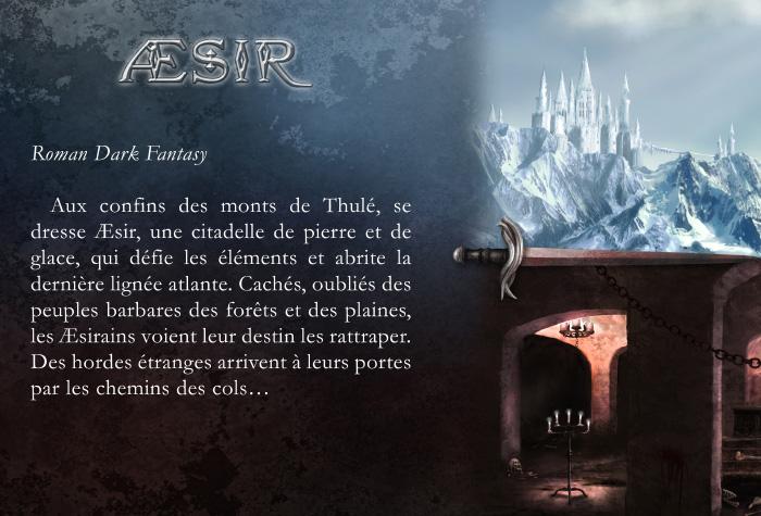 manuscrits aesir - Æsir devient Le Crépuscule d'Æsir sous l'aile de Plume Blanche