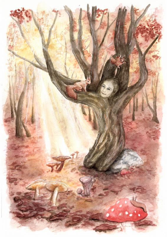 sophie arbre pf - La fille-arbre